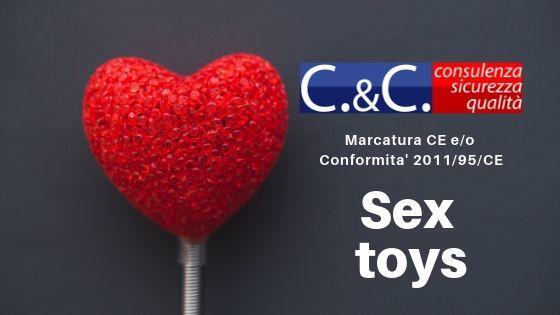 Sex Toys sicuri e con marcatura CE