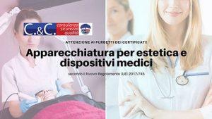 Apparecchiature per estetica e dispositivi medici