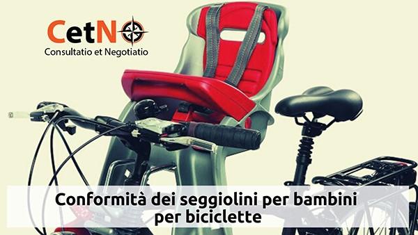 seggiolini per biciclette