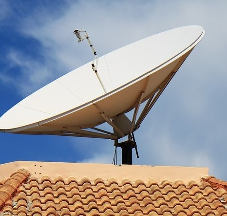 come funziona l'antenna satellitare interna